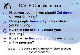 Cage Questionaire